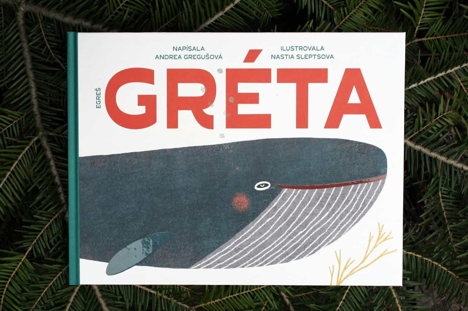Prebal knihy Gréta