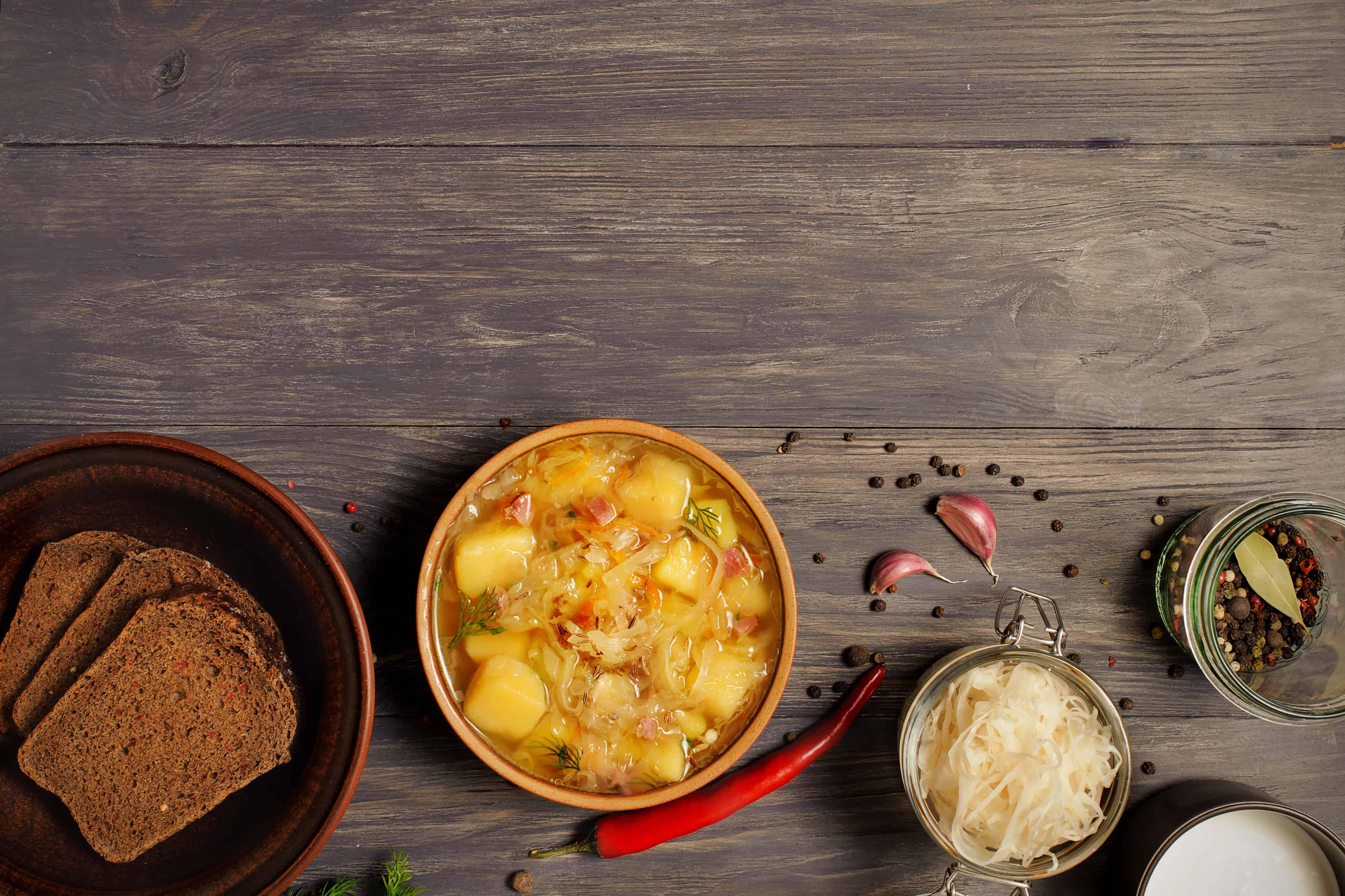 Klasické slovenské polievky