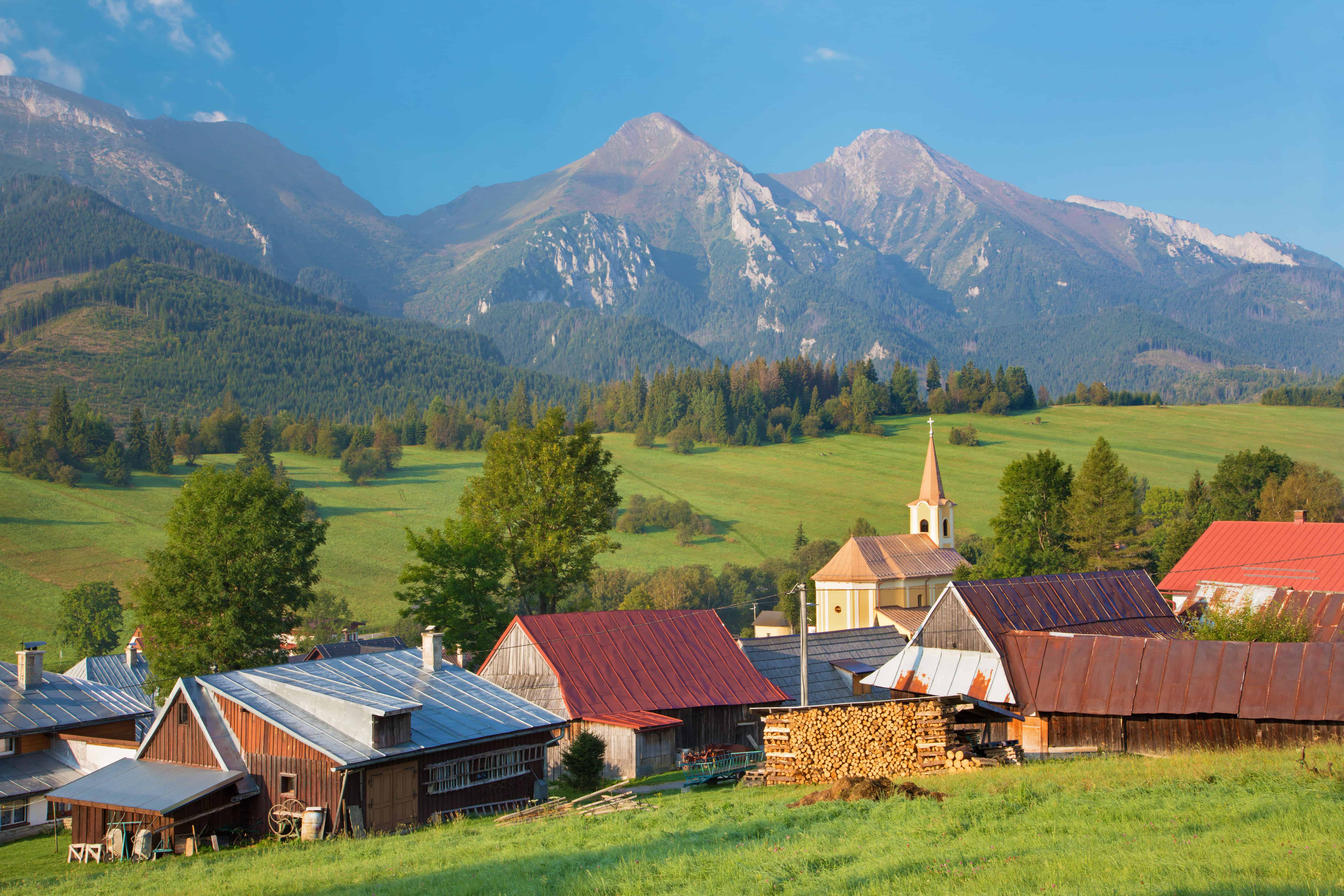 Belianske Tatry a okolie