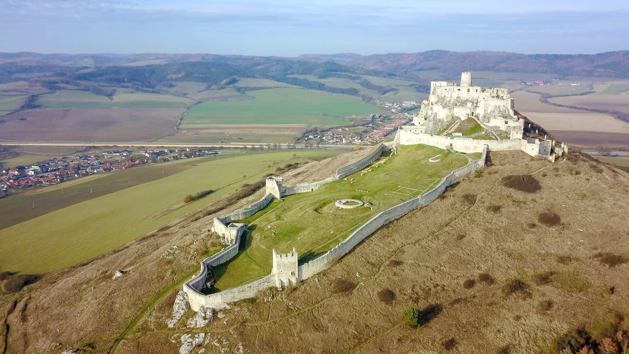 Unikátna virtuálna prehliadka Spišského hradu v 360° a zo vzduch