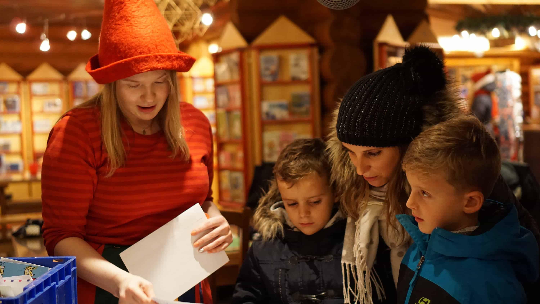 Laponsko - zimná návšteva Santovej dedinky