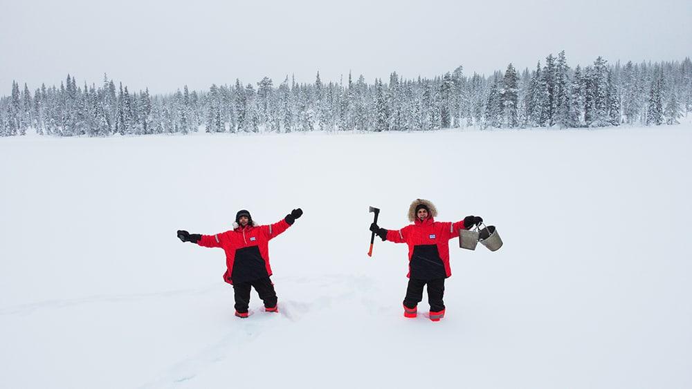 O našom nečakanom výlete za polárny kruh