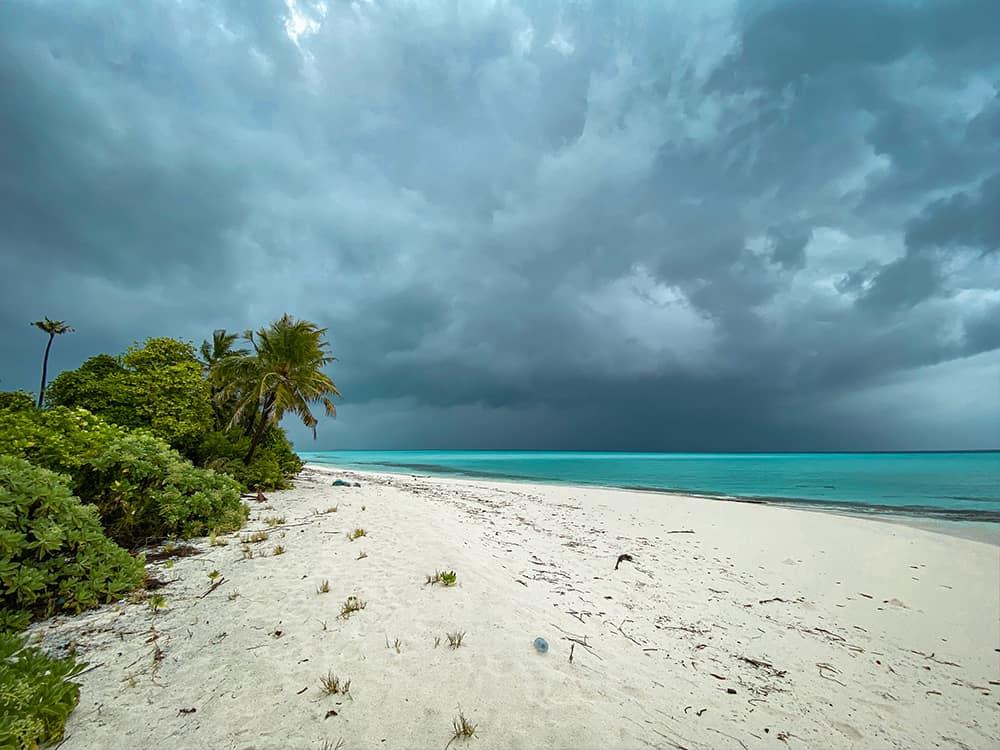 Ťažké chvíle v raji na zemi!